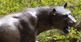Panther statue image